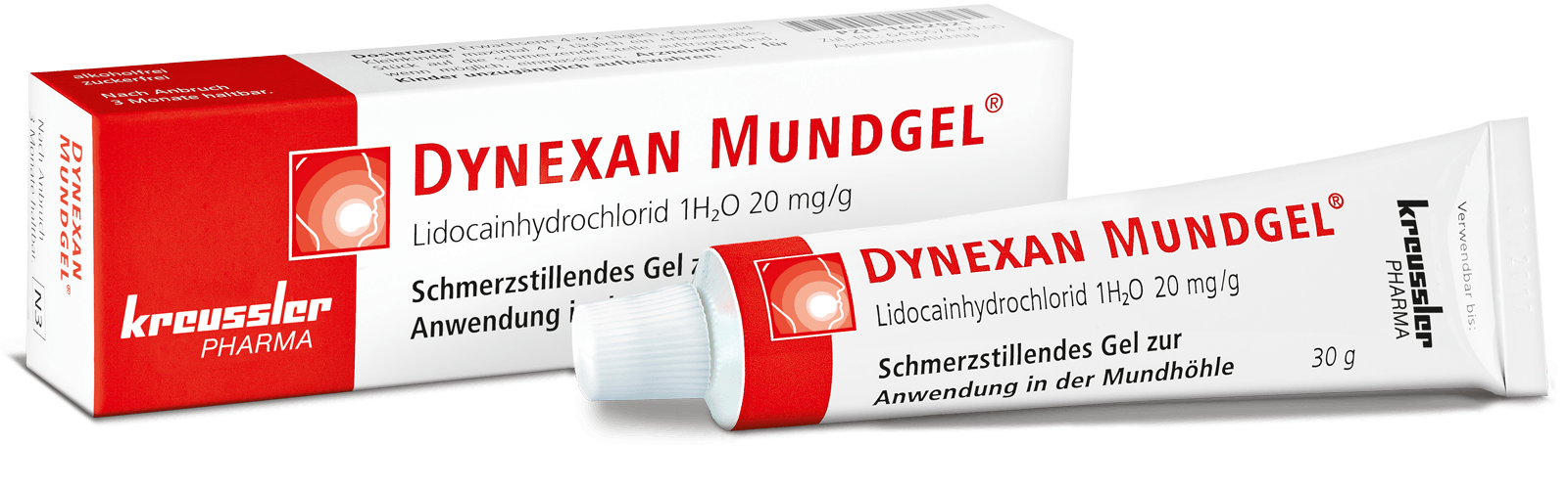Kreussler Pharma - DYNEXAN MOUTH GEL - Tube 10g
